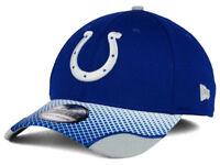 Indianapolis Colts New Era 39THIRTY NFL Screen Vize Flexfit Cap Hat Size S/M