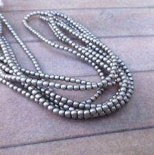 Strand of 150 Faux Pearl Beads Mini Glass Pearls 2mm