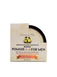 Sunny Isle Pomade Just for Men Jamaican Black Castor Oil 4 oz.