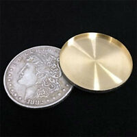 Super Morgan Dollar Expanded Shell Coin Magic Accessories Coin Vanishing Tricks