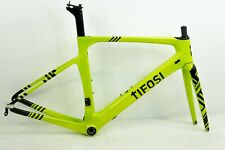 EX-TEAM Tifosi Auriga Aero Carbon Road Frameset XS RRP£999.99 Green Black