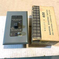Allen-Bradley 600-Tkx216 Manual Starting Switch with Neon Pilot Light series A
