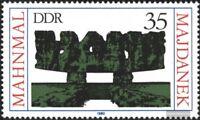 DDR 2538 (kompl.Ausgabe) postfrisch 1980 Majdanek