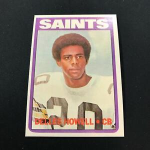 1972 Topps #321 DELLES HOWELL New Orleans Saints NRMT *MR18