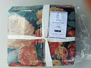 Pottery Barn Amela Floral Print Duvet Cover King #4368