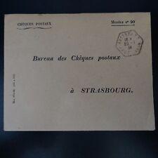 ALSACE LORRAINE LETTERA COVER CAD ESAGONALE MATTSTALL 1934