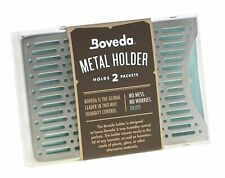 NEW Boveda Metal Holder 2 Pack Stacked 2 x 60g Packs Humidity Control Holder