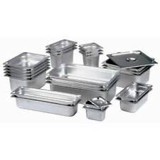 More details for stainless steel gastronorm pan gastro container tray bain marie food pot lid