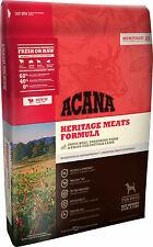 Acana Heritage Meats Dog Food 25 Pounds