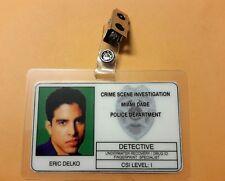 CSI Miami TV Show ID Badge - Eric Delko prop cosplay costume