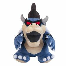 "Super Mario Bros Dark Bowser Koopa Plush Doll Figure Stuffed Soft Toy Gift 12"""