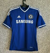 CHELSEA FC Football Soccer Shirt Jersey Training Top Adidas Mens size S Mint