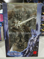 "WOW World of Warcraft Arthas Fall of The Lich King Arthas Menethil 7"" Figure NIB"