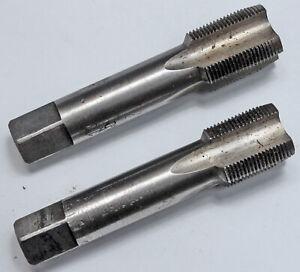 Handgewindebohrer Satz 2-teilig oder Fertigschneider M16x1, M16x1,5 Feingewinde