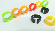 10pcs*8mm $1.58 pigeon birds leg for pigeon colorful chicken rings free ship