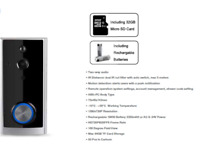 V-TAC Smart Doorbell WiFi Wireless Motion Activated Video ring bell 2 Way Talk