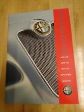 2000 Alfa Romeo Boutique Brochure
