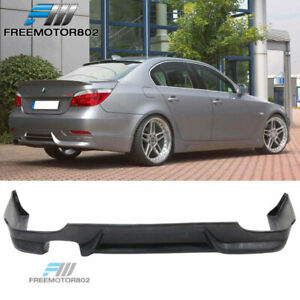 Fits 04-07 BMW E60 5-Series 525 530 Rear Bumper Lip Spoiler Bodykit PU