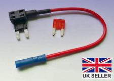FUSIBILE LAMA MINI RUBINETTO ADATTATORE CON FUSIBILE 10 AMP-Aggiungi un circuito per la tua auto