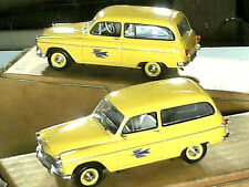 SIMCA P 60 FOURGONNETTE RANCH : POSTE PTT 1962 / UNIVERSAL HOBBIES
