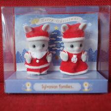 Sylvanian Families CHRISTMAS SANTA TWINS Epoch Calico Critters