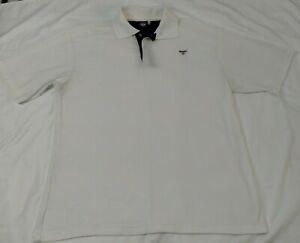 Gant Sports Wear Mens Short Sleeve Polo Shirt Size 3XL White *NNT*