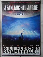JEAN MICHEL JARRE 2011 Munich Orig. Concert Poster-concert affiche a1