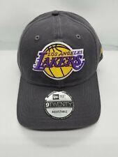 NEW ERA 9TWENTY ADJUSTABLE HAT .  NBA.  LOS ANGELES LAKERS.