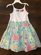 Tommy Bahama Kids Girls Dress Pink Seahorse Nwt Girl's Size 6x
