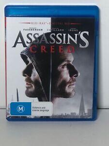 Assassins Creed Blu Ray Disc Fast & Free Aus Post