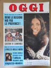 OGGI n°6 1970  Gigliola Cinquetti Stefania Sandrelli Jean Bouquin  [G801]