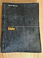 YALE MRW / MSW Motorized Hand Reach Stacker Forklift Parts Manual # 1464