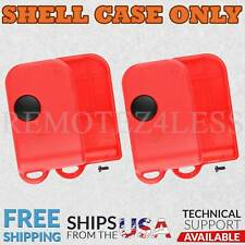 2 For Red Ferrari 550 570 Maranello Porsche Remote Key Fob Shell Case Cover