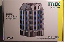 Minitrix 66308 Bausatz Eck-stadthaus Jugendstil