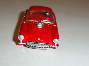 AUTO WORLD 55 CHEVY CORVETTE RED HO SLOT CAR BODY ONLY NOS CONDITION