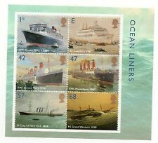 GB 2004 Ocean Liners unmounted mint mini / miniature sheet MNH stamps