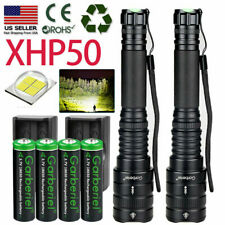 990000lm Supper Bright XHP P50 Led Flashlight 5 Modes Zoomable Waterproof Light