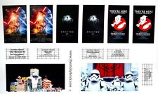 Custom stickers 4 LEGO 10232 Palace Cinema Modular Force Awakens Ghostbusters