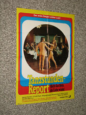 Tanzstunden-Report Kinolakat sexy erotic School for Swingers Techniques
