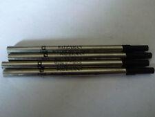 Waterman 10 Genuine Black Roller Pointe Fine   Refills