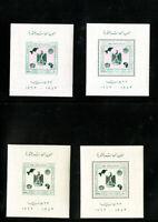 Egypt Stamps # 564 S/S Rare perf & Imperf XF OG NH Error