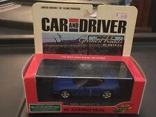 Road Champs Car & Driver Greatest Roads 1/43 1998 Corvette