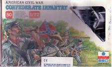 CONFEDERATE INFANTRY  -  AMERICAN CIVIL WAR - ESCI 223 - 1/72 -  EN BOITE