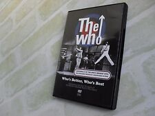 THE WHO - WHO'S BETTER, WHO'S BEST - ROCK,N,ROLL BAND - NTSC PAL DVD