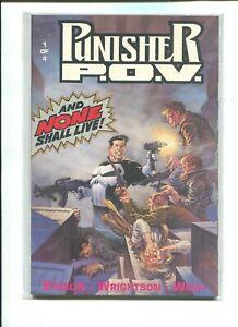 The Punisher: P.O.V. #1-4 Complete Set (1991) Marvel Comics FREE SHIPPING!