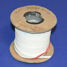 """Grained Vinyl White Cord 5/32"""" Partial Roll"""