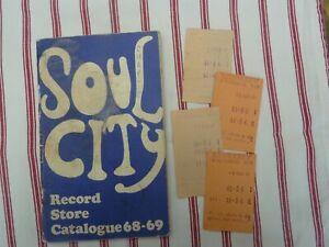 SOUL CITY CATALOGUE 1968 / 69 NORTHERN SOUL