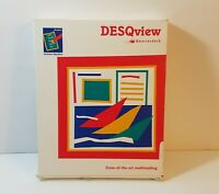 Quarterdeck DESQview for DOS in Box with Manuals Vintage - NO SOFTWARE DISKS