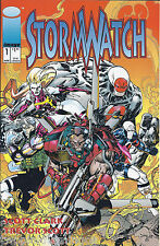 Stormwatch Image Comics #1 March 1993 First Printing  Near Mint Bag, Board