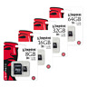 NEW KINGSTON MICRO SD SDHC MEMORY CARD 8gb 16gb 32gb CLASS 4 CARD WITH ADAPTER